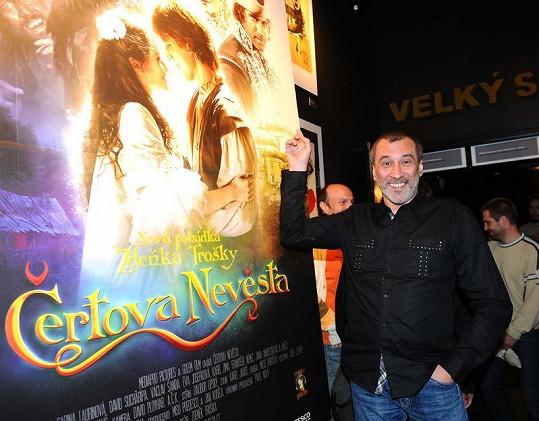 David Suchařípa hraje krále.