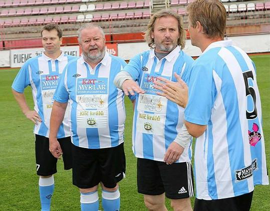 Pepa Vojtek byl jednou z mála hvězd, které opravdu hrály fotbal.