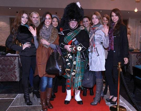 Denisa Domanská si návštěvu Skotska užila.