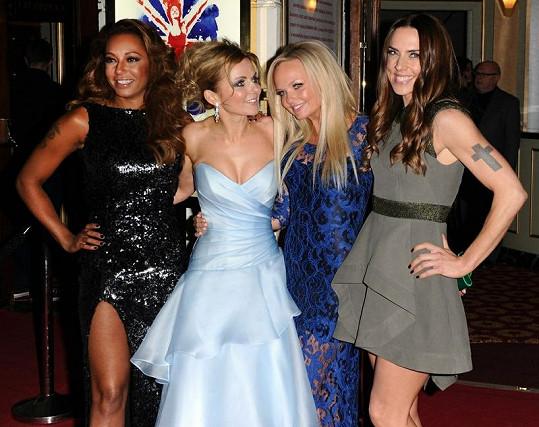 Spice Girls při představení muzikálu Viva Forever.