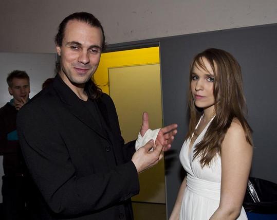 Tomáš Beroun s přítelkyní Vlaďkou Skalovou na afterparty po premiéře.