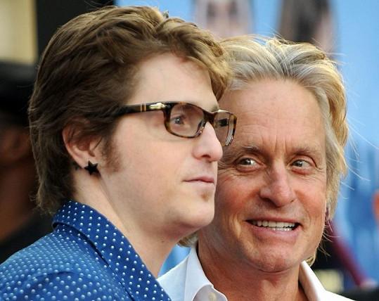 Michael a jeho povedený synek.