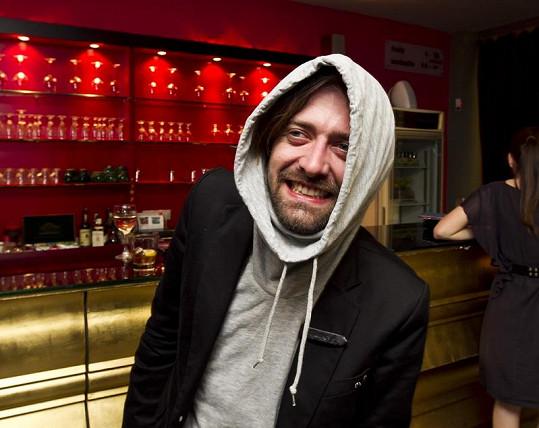 Petr Polák si večer pořádně užil.