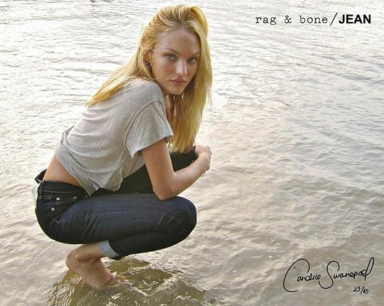 Krásná Candice Swanepoel pro Rag & Bone.