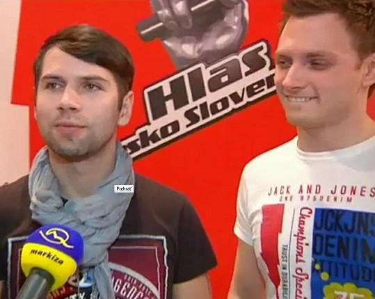Norbert Petický a Jakub Musil.