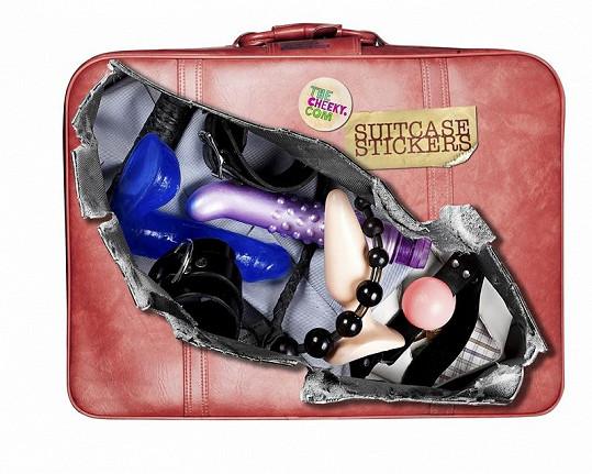 Pro odvážné dámy je zde i zavazadlo se sexuálními pomůckami.