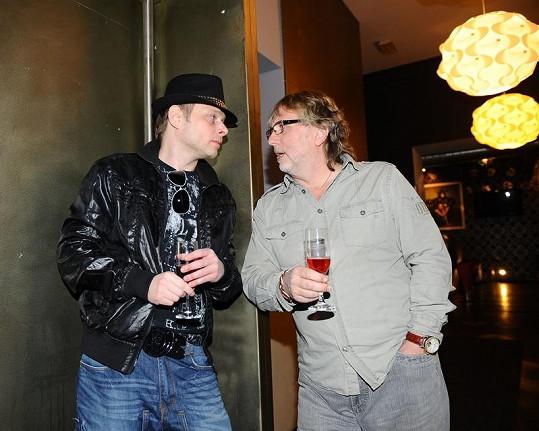 Janda si na akci povídal s Jarkem Šimkem.