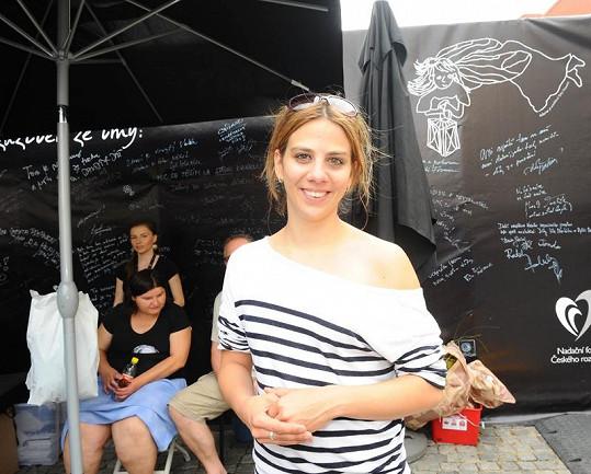 K účasti Petra přesvědčila také jeho kolegyně ze SuperStar Aneta Langerová.