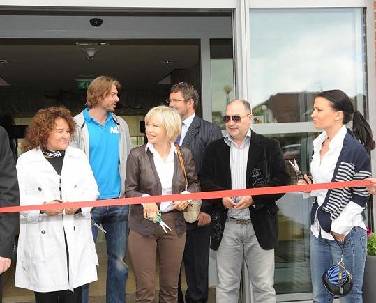 Otevření nového Alzheimer centra.