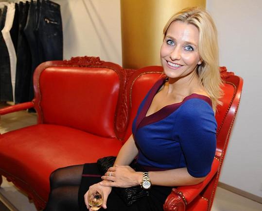 Kristina Fridvalská je stále velmi půvabná.
