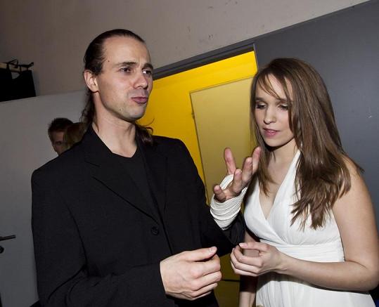 Tomáš Beroun s přítelkyní Vlaďkou Skalovou, která měla o něho velký strach.