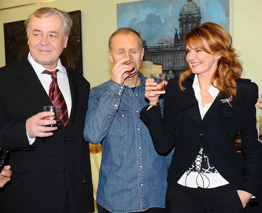 Hana Heřmánková a Josef Carda a Zdeněk Žák.
