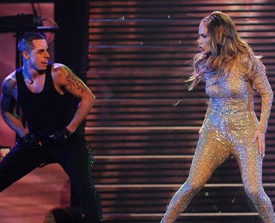 Jennifer Lopez a její nový přítel Casper Smart.