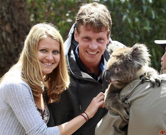 Tomáš Berdych a Lucie Šafářová spolu chodili devět let.