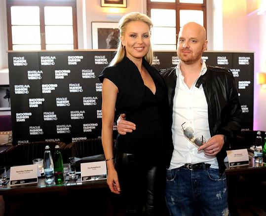 Simona Krainová s manželem Karlem Vágnerem.