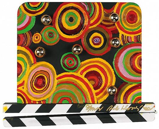 Toto je úplně první klapka, kterou herečka vytvořila pro Zlínský filmový festival.