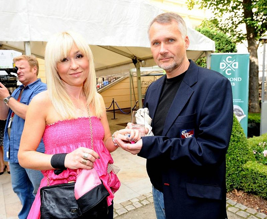 Kateřina Herčíková s manželem Janem Herčíkem.