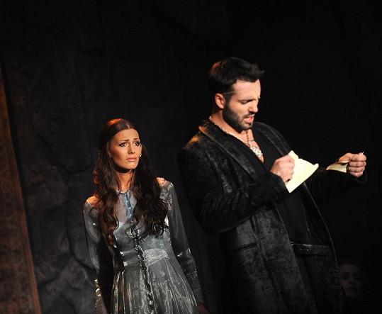 Rozchod Ofélie a Hamleta.