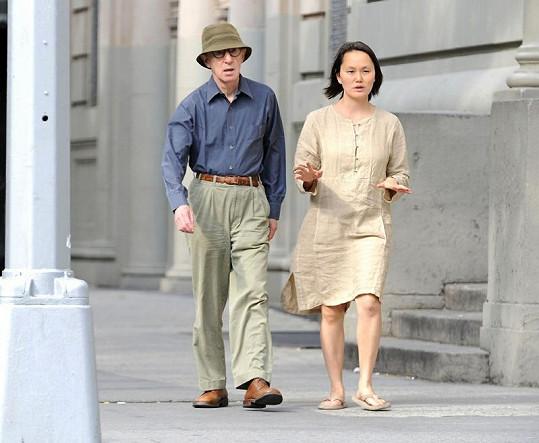 Woody Allen s manželkou Soon-Yi.