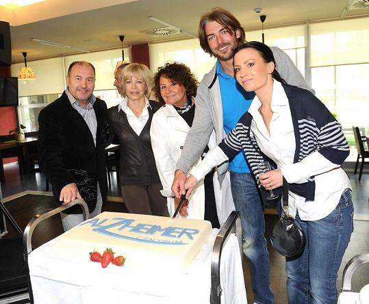 Slavnostní otevření Alzheimer centra.