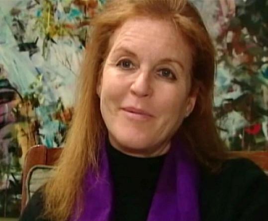 Sarah Ferguson, vévodkyně z Yorku.