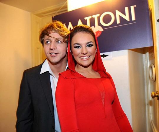 I Tomášem Klusem, se kterým se v roce 2011 rozešla.