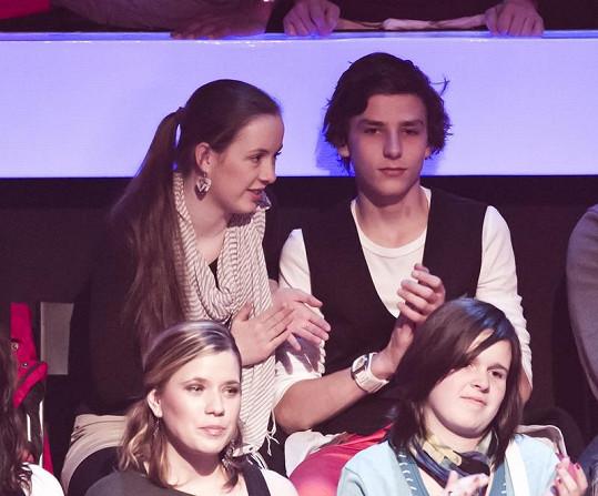 Na show zavítali také Vašek Matějovský a Helena Němcová z Ulice.