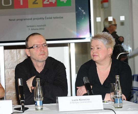 Na Ententýky pracují producent Pavel Anděl a scénáristka Lucie Konečná.