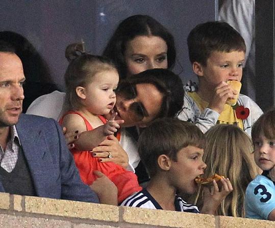Harper s Victorií Beckham.