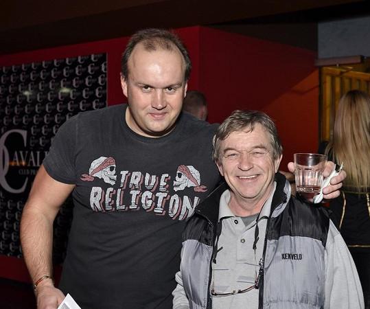 Marek Vít s Romanem Skamene.