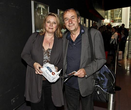 Kateřina se svým manželem Michelem Fleischmannem.