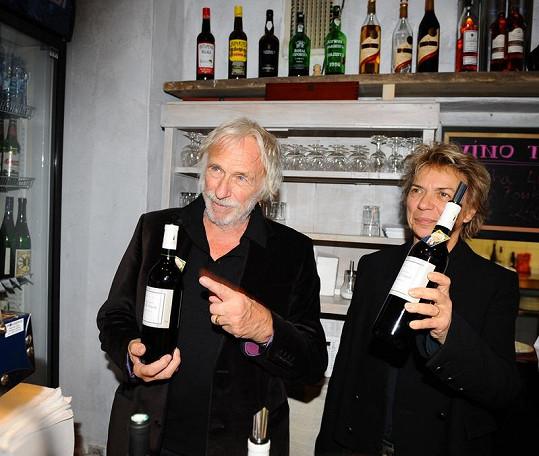 S vínem už byl Richard v Praze několikrát.