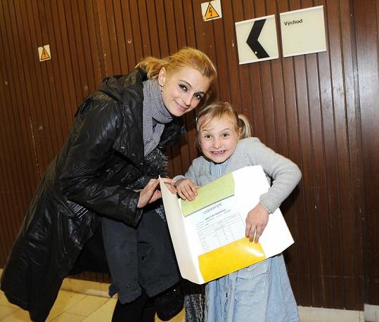 Ivana s dcerou Sofií.
