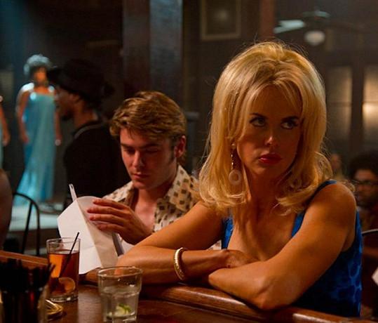 Nicole jako blondýnka v novém filmu The Paperboy.