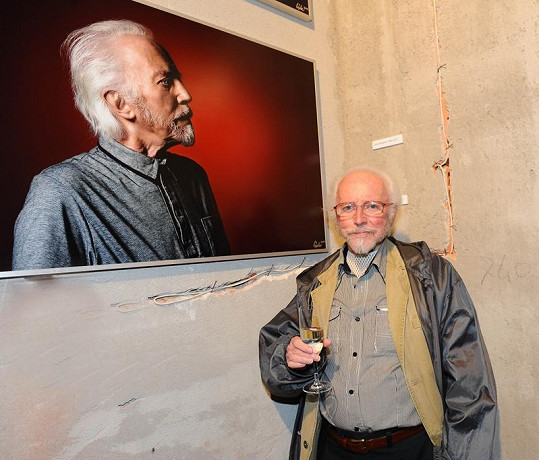Stanislav Fischer se svojí fotkou.