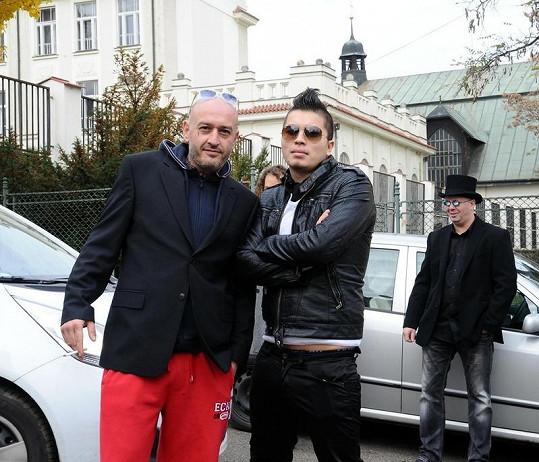 Jakub Mohamed Ali a Marcus Tran byli stylově oblečeni.