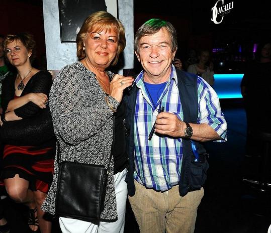 Alkoholové úlety mu vždy odpustila jeho manžela Renata.