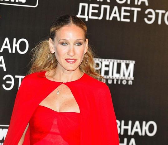 Sarah Jessica Parker v Moskvě.