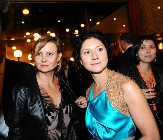 Martha Issová s Jitkou Schneiderovou.