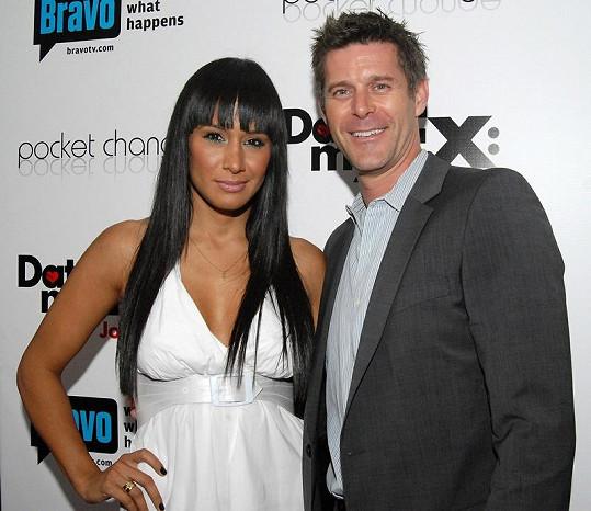 Slade Smiley s bývalou manželkou Jo de la Rosou, se kterou se objevil v první řadě reality show.