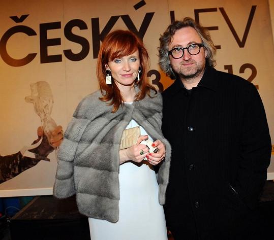Aňa s režisérem Janem Hřebejkem.