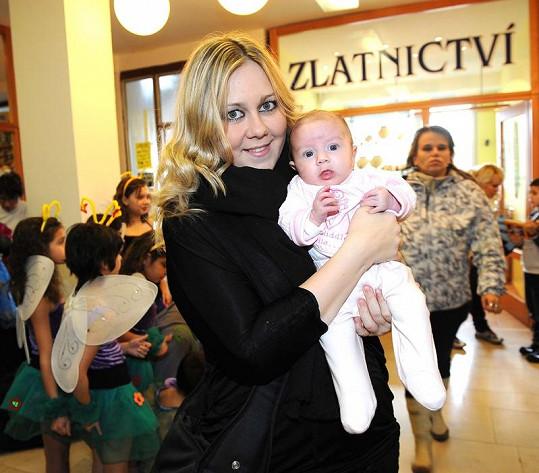 Klára s dcerkou Valérií.