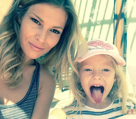 Petra s dcerou Ráchel