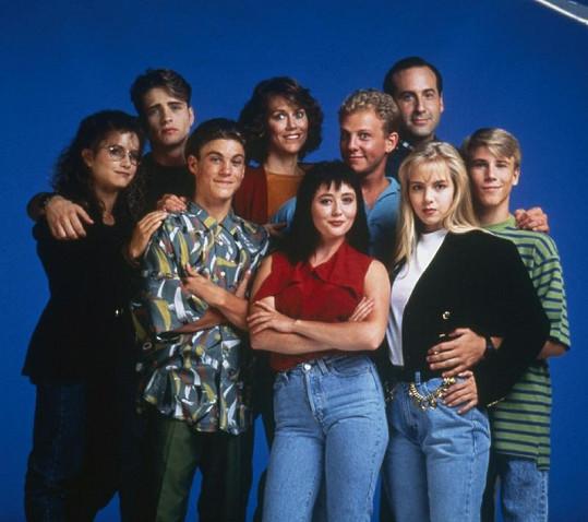 Parta ze seriálu Beverly Hills 90210.