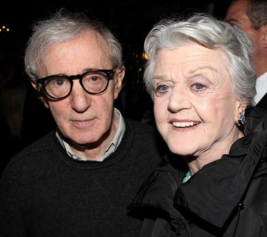 Angela Lansbury s Woody Allenem.