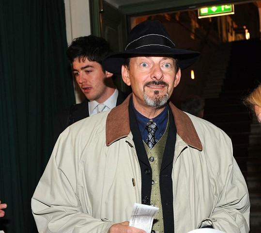 Otakar Brousek mladší budil svým kloboukem pozornost.
