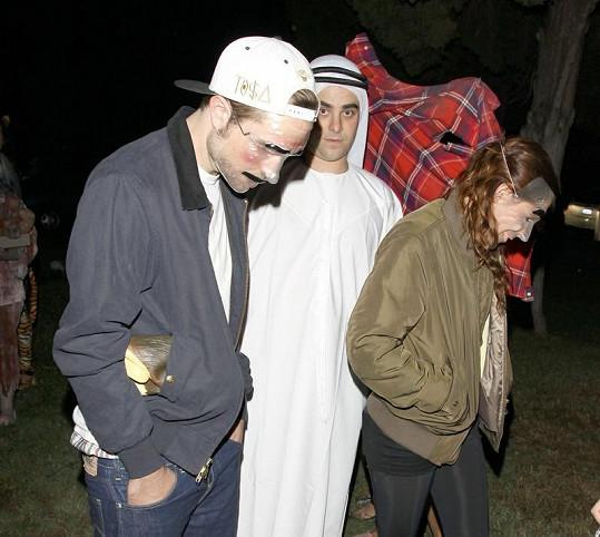 Slavný pár se na Halloweena sladil...