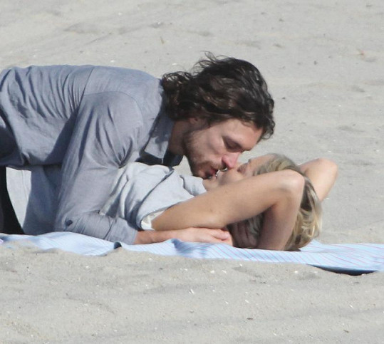 Sharon a Martin v létě na Venice Beach.