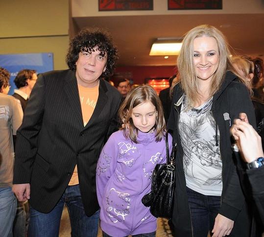 Richard Genzer a Linda Finková nejspíš zachovávají manželství kvůli svým dětem.