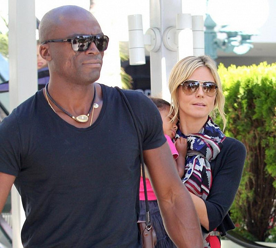 Seal a Heidi Klum tvořili harmonický pár.